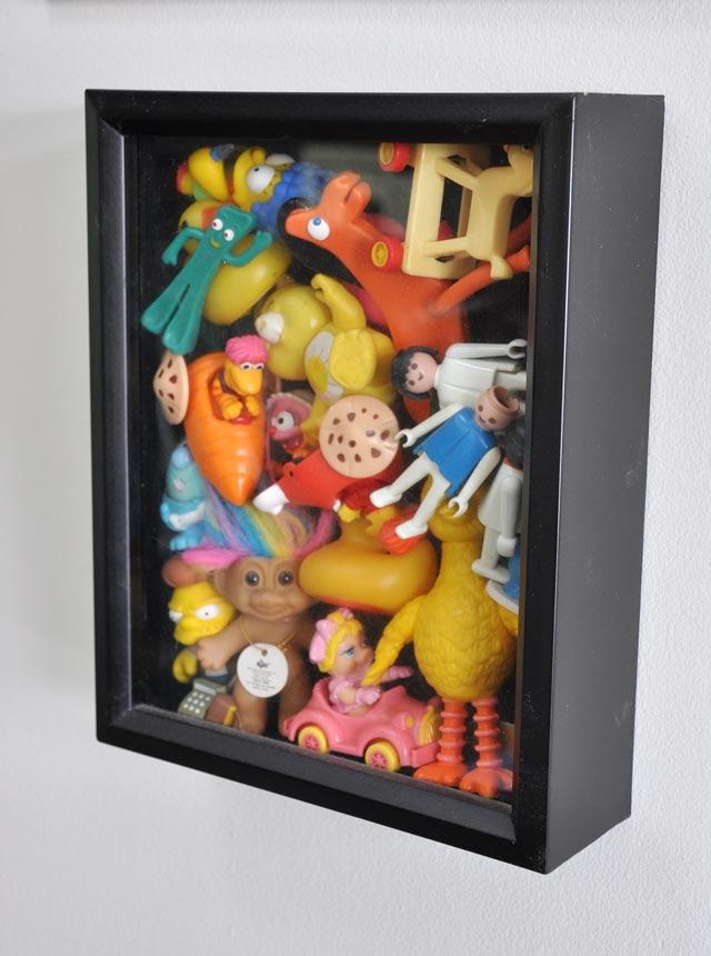 toy display shadow box