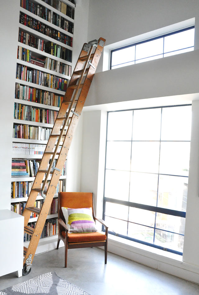 loft library ladder