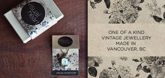 vintage jewellery designed by visualheart.com
