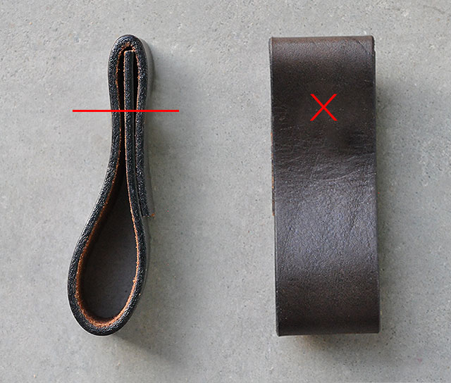 leather furniture pull diy