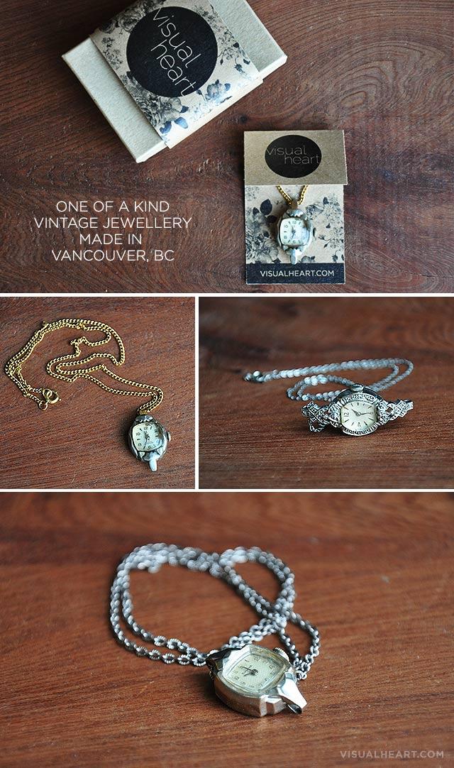 one of a kind vintage jewellery by visualheart.com