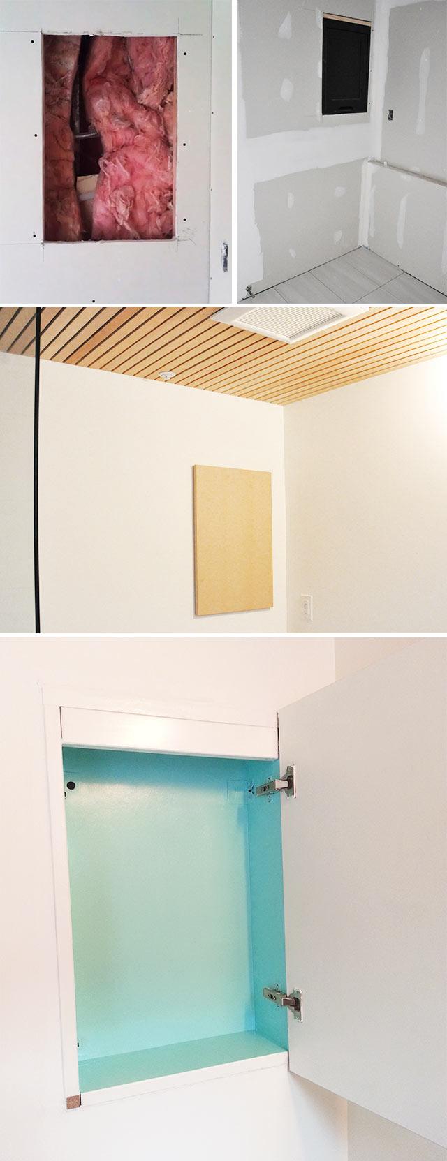 Medicine Cabinet Mini Makeover Visual Heart Creative Studio