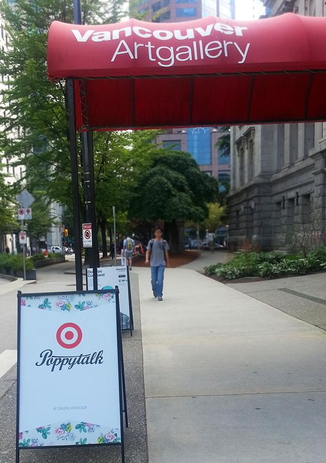 poppytalk target vancouver