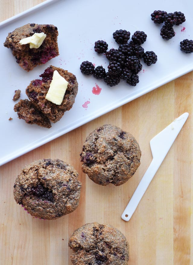 Blackberry Bran Muffin Recipe