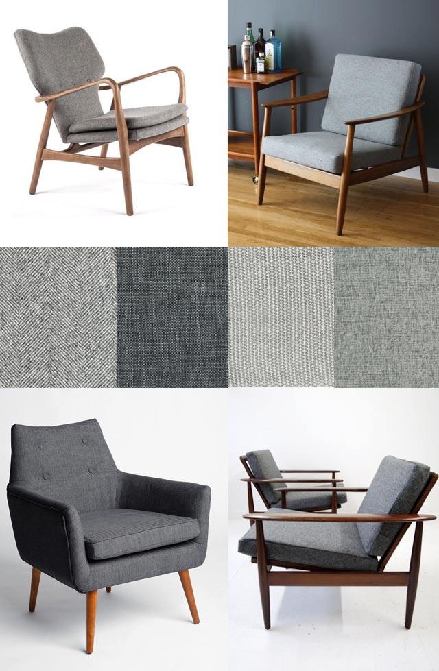 Vintage Mid Century Chairs visualheart creative studio