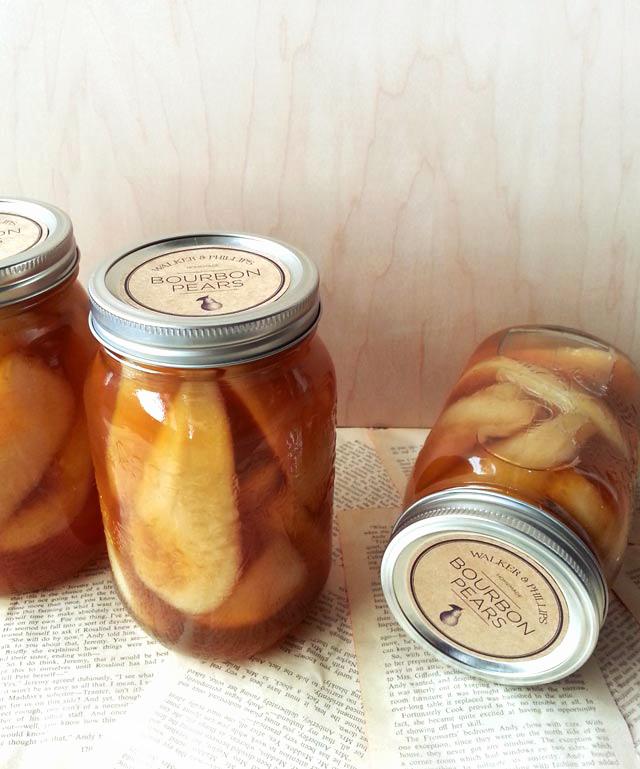 vanilla bourbon pears