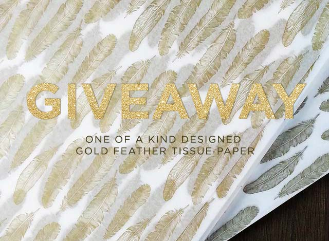 win 100 sheets custom printed gift paper