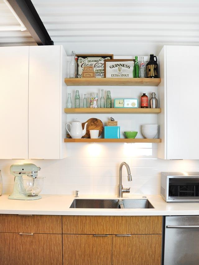 loft kitchen renovation