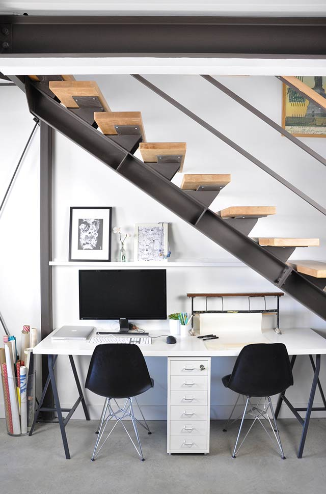 loft apartment office