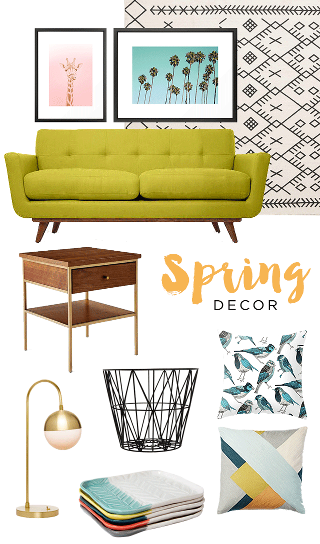 spring 2015 decor inspiration