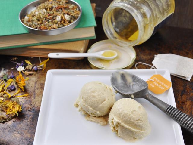 chamomile honey ice cream recipe
