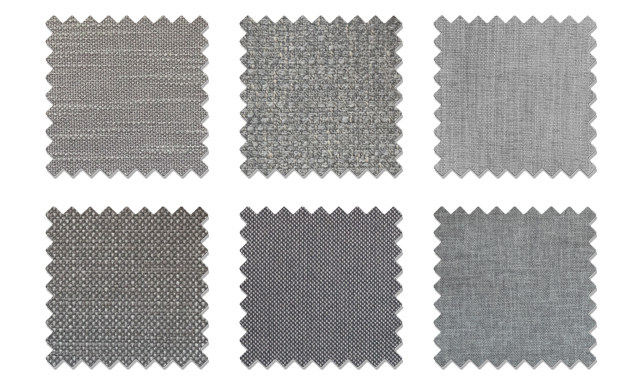 Grey Fabric Samples Joybird Sofa