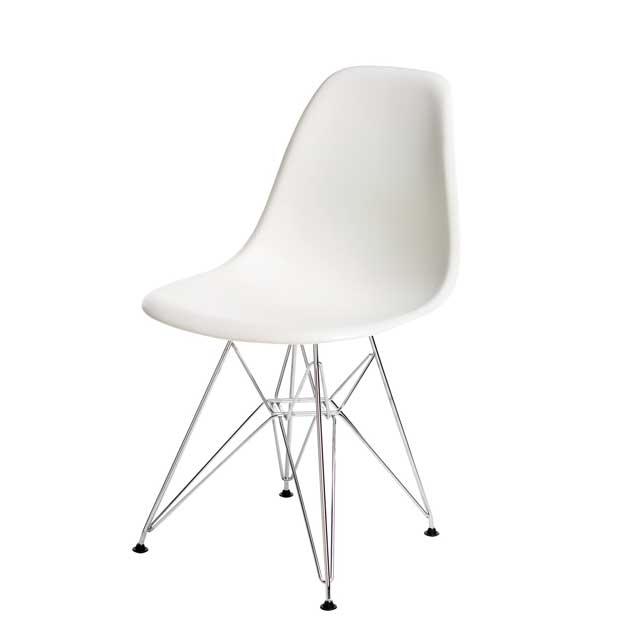Beau White Eames Chair