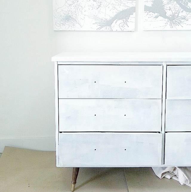 vintage dresser primer