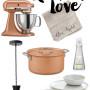 Black, White and Copper Kitchen Inspiration