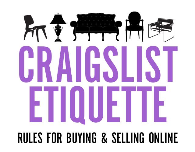 Craigslist Etiquette