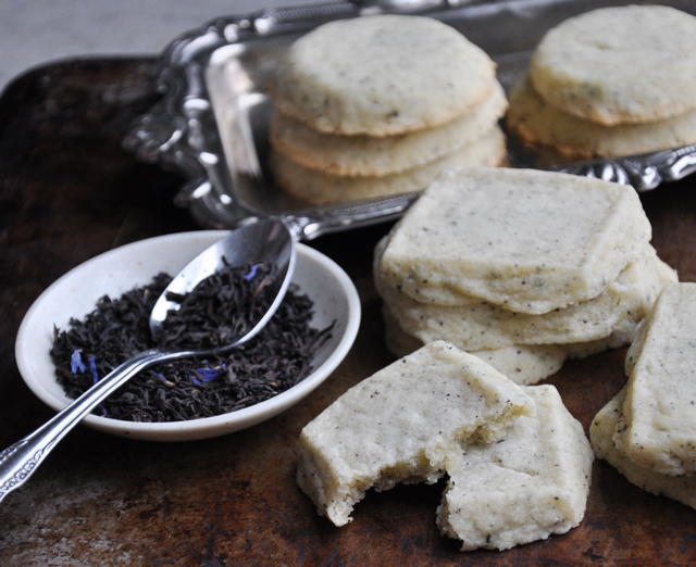 Earl Grey shortbread recipe
