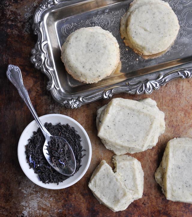 Earl Grey shortbread recipe