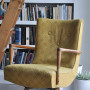 We're Getting Our Vintage Chairs Upholstered