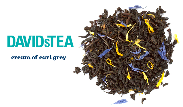 davids tea cream of earl grey for a DIY Valentine