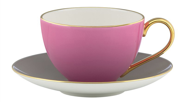 Kate Spade Teacup from Indigo to go with a DIY Valentine card