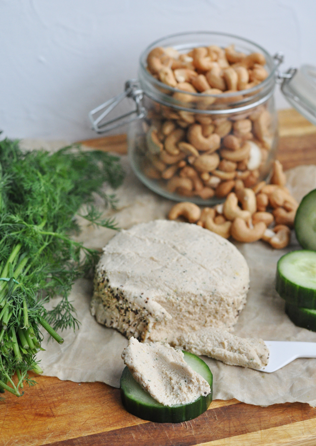 Vegan Cashew Nut Cheese Recipe