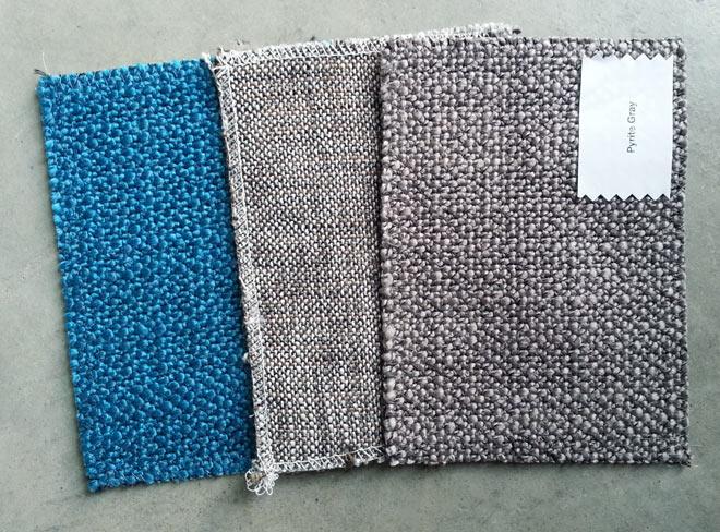 article CENI sofa fabric swatches