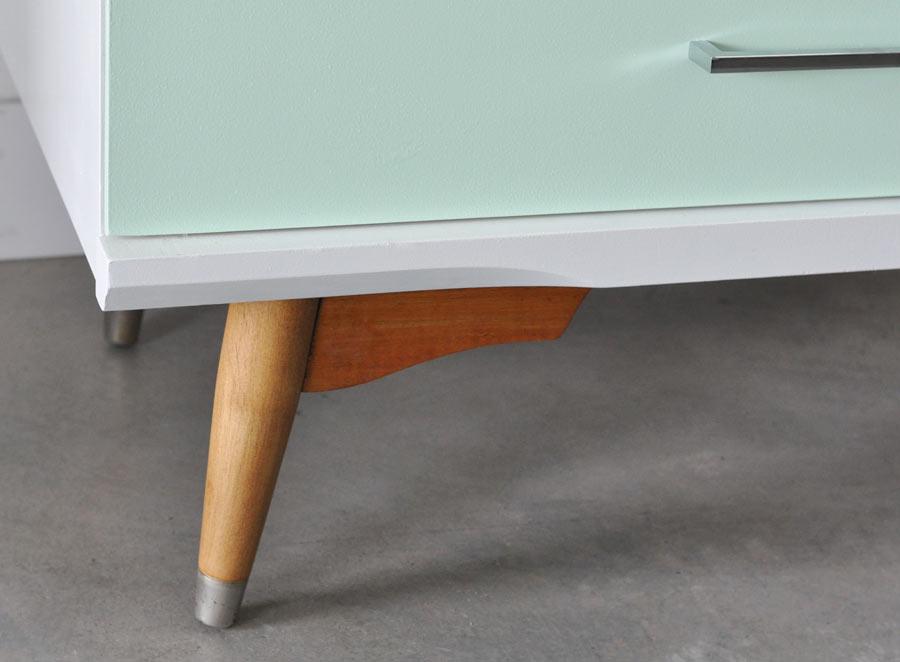 vintage dresser legs