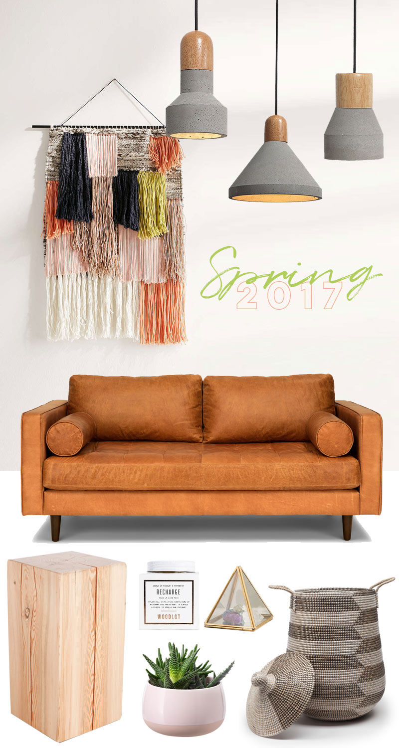 Spring 2017 Decor Trends
