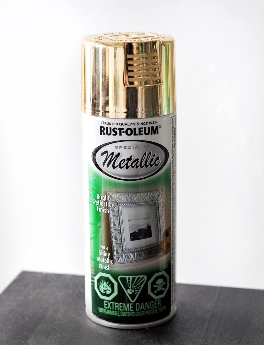 Best metallic gold spray paint from Rustoleum