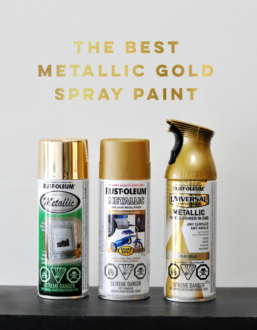 The Best Metallic Gold Spray Paint Visualheart Creative Studio