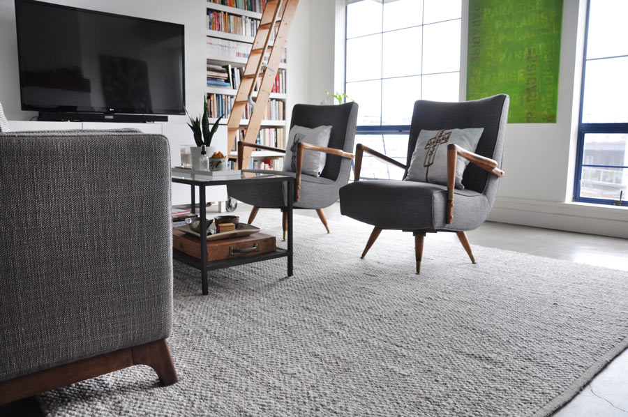 Texa Rug In Fog Gray From Article