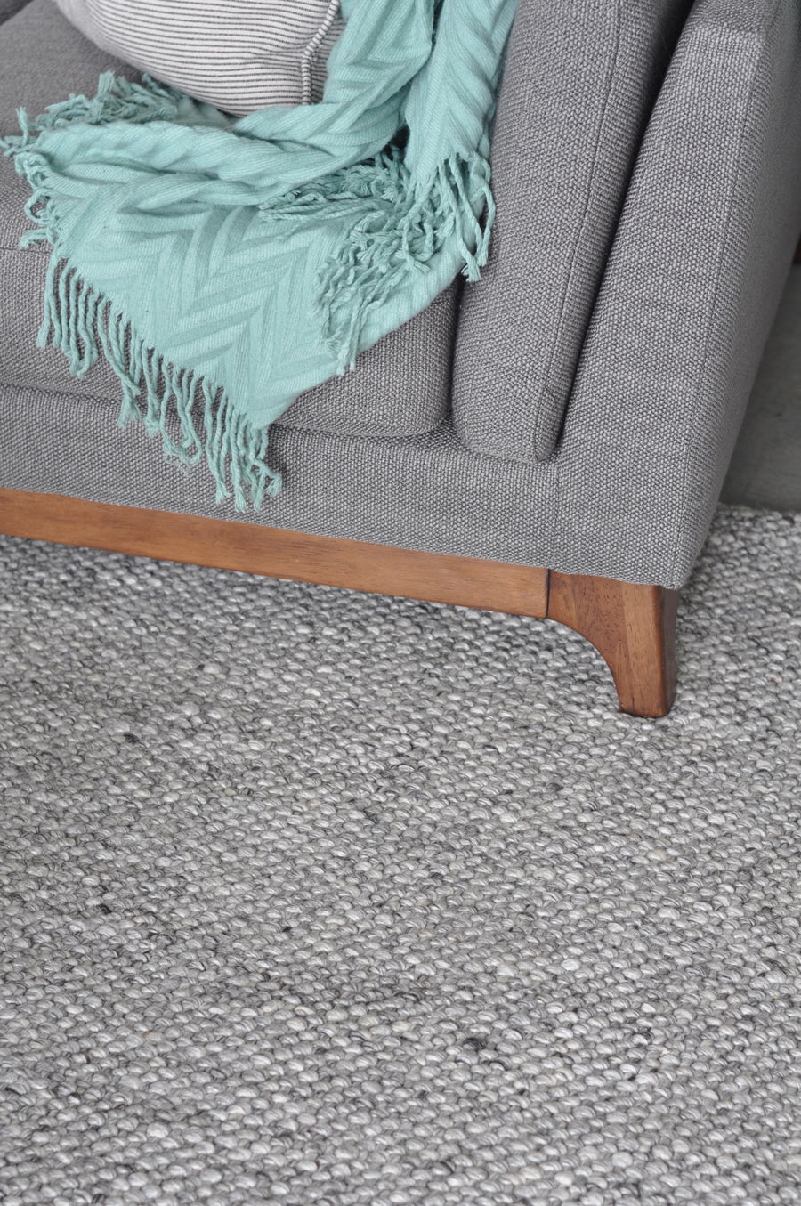 Texa rug in fog gray from Article.com