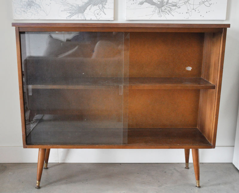 Mid-Century Modern Sideboard Before and After