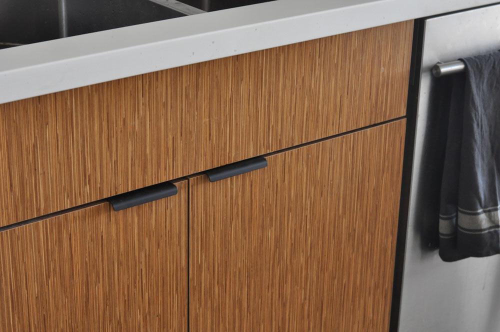 Marathon Hardware Matte Black Cabinet Pull