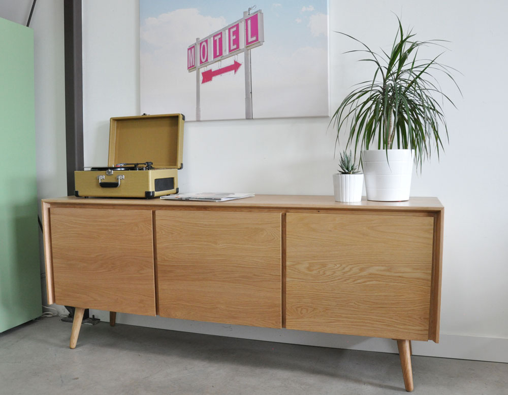 A Review of the White Oak Seno Sideboard from Article - visualheart ...