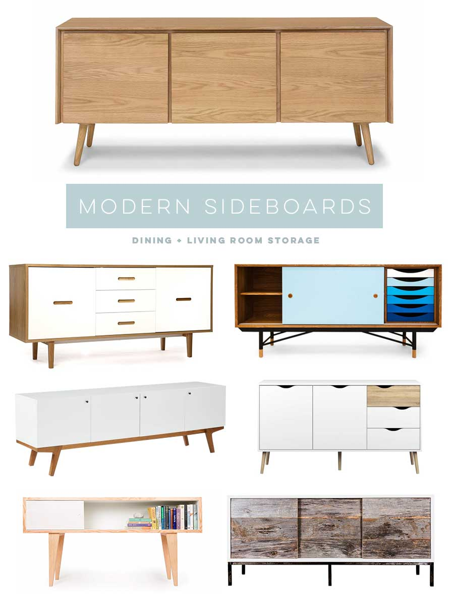 Modern minimalist sideboards via www visualheart com. Modern Sideboards and My Dining Room Wish List   visualheart