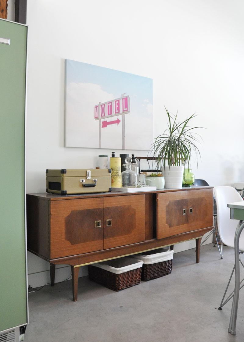 Loft apartment dining room makeover
