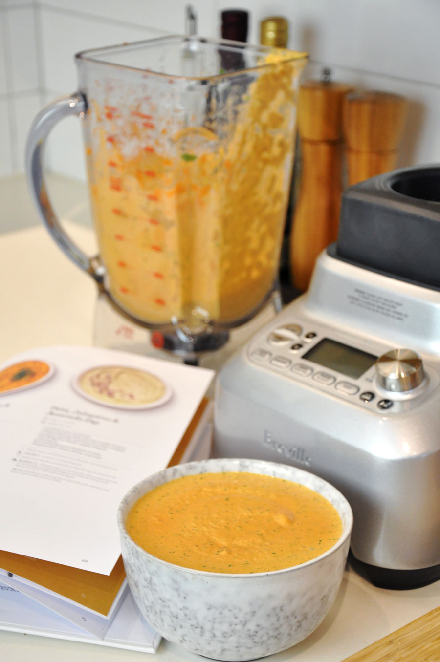 Spiced Carrot Dip Recipe with the Breville Boss