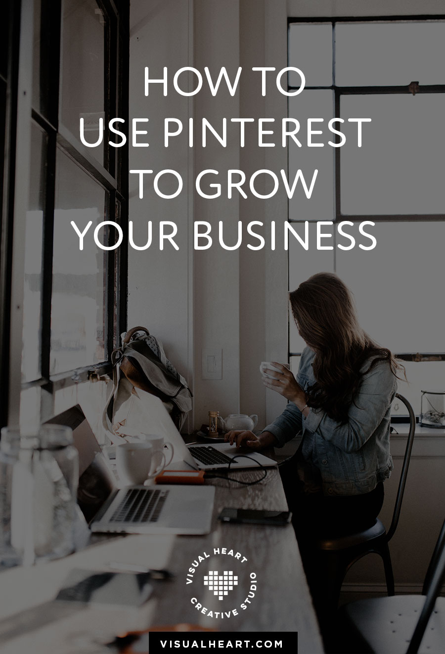 Pinterest tips for business. How to drive traffic to your website using Pinterest. @visualheart