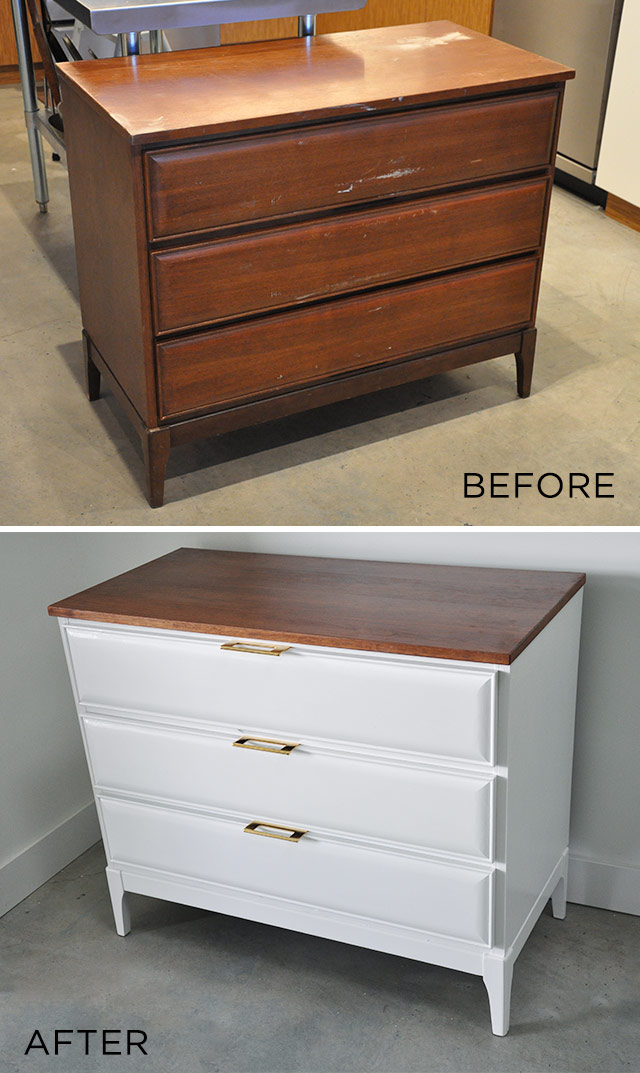Before And After Dresser Visual Heart Creative Studio