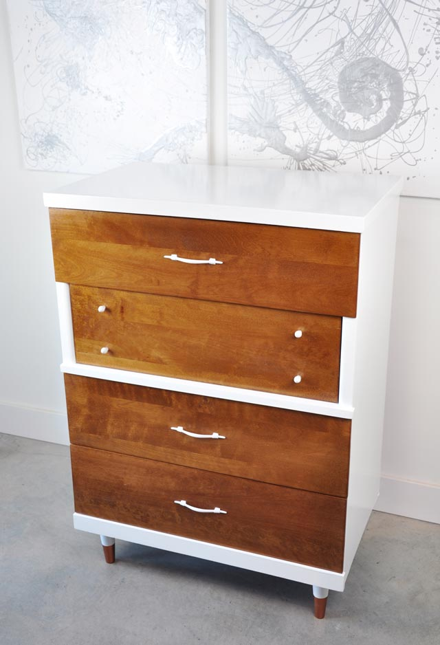 Before And After Vintage Dresser And Highboy Visual