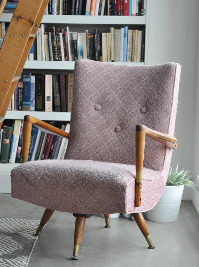 Pink Vintage Chair Before